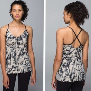 Lululemon Open Your Heart Tank Black Mojave 4